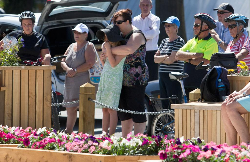 MINUTE SILENCE: Anniversary of February 22nd 2011 earthquake.