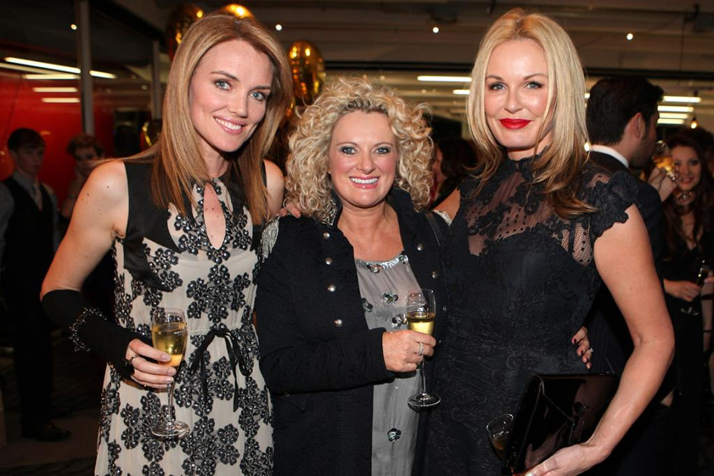 Moet & Chandon Party at NZFW...Petra Bagust, Trelise Cooper and Charlotte Dawson