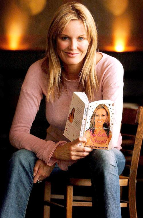 2003: Charlotte Dawson with her book 'Charlotte's Secrets'.