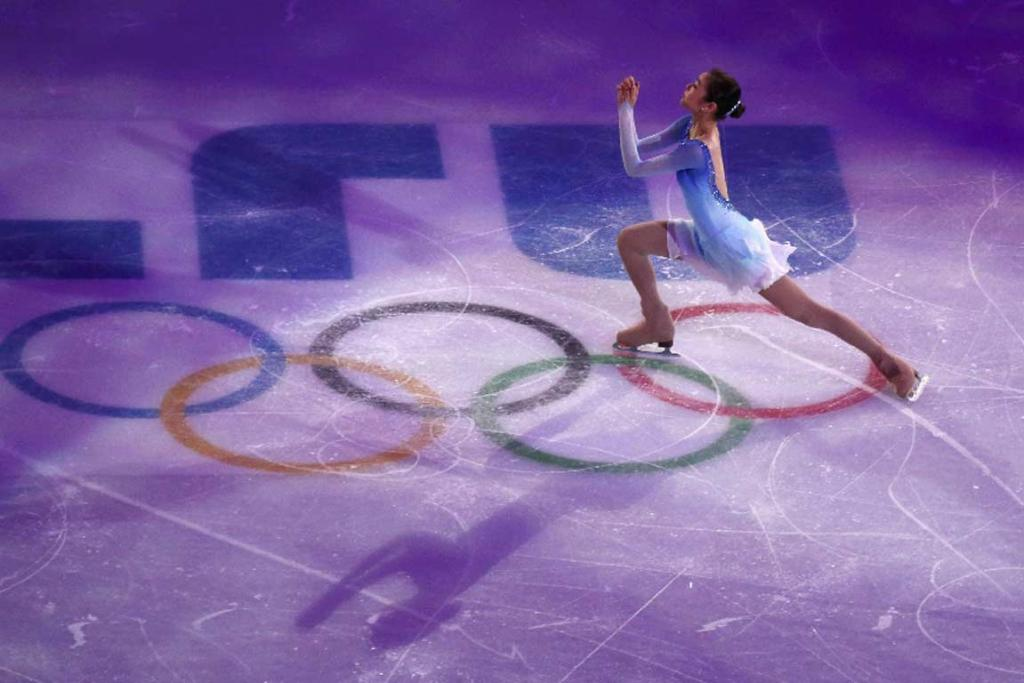 South Korea's Kim Yuna performs during the figure skating gala exhibition.