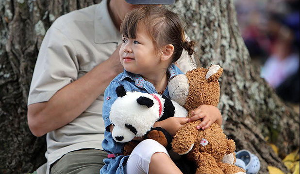 Fluffy critters, and their human companions have met today for the annual Teddy bear picnic.
