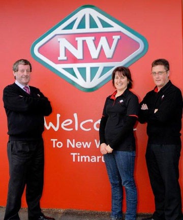 Timaru New World owner-operator Howard Smith is preparing to hand over the business to his daughter Caroline Hall.