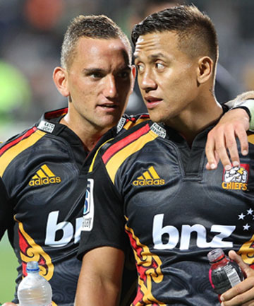 TIME FOR TOUGHNESS: Chiefs captain Aaron Cruden and his teammates won't be using a mounting injury-toll as an excuse leading into next weekend's game with the Highlanders.