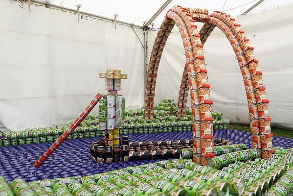 BeCanz, Canstruction contest