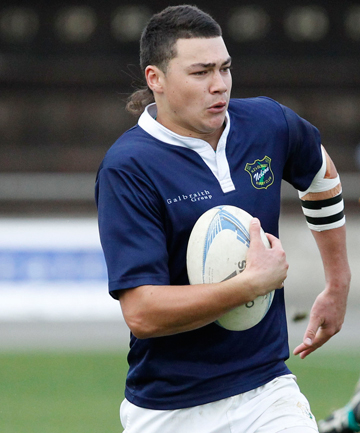 MAIN CHANCE: David Havili will try out for the national under-20 squad.