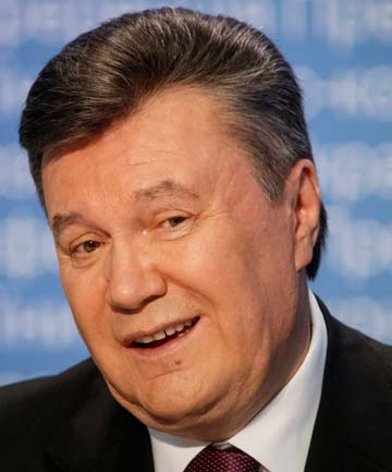 WHEREABOUTS UNKNOWN: Viktor Yanukovych.