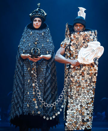 Tatyanna Meharry and sister Natasha Meharry took out the supreme award with their work The Exchange in last year's World of WearableArt show