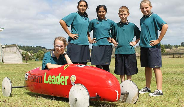 Hobsonville Primary 2014 Soapbox Derby