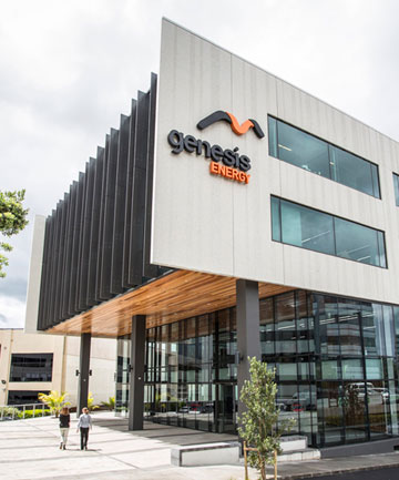 Genesis Energy Auckland headquarters.