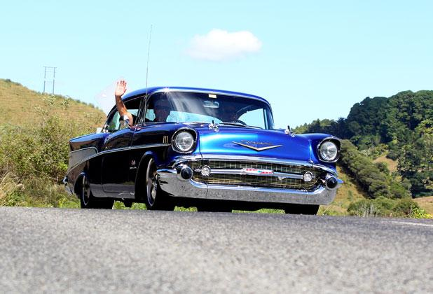 Taranaki Daily News photographer Charlotte Curd rolled along with Americarna for the day.