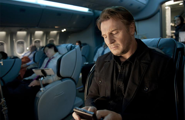 ON BOARD: Liam Neeson in a scene from Non Stop.