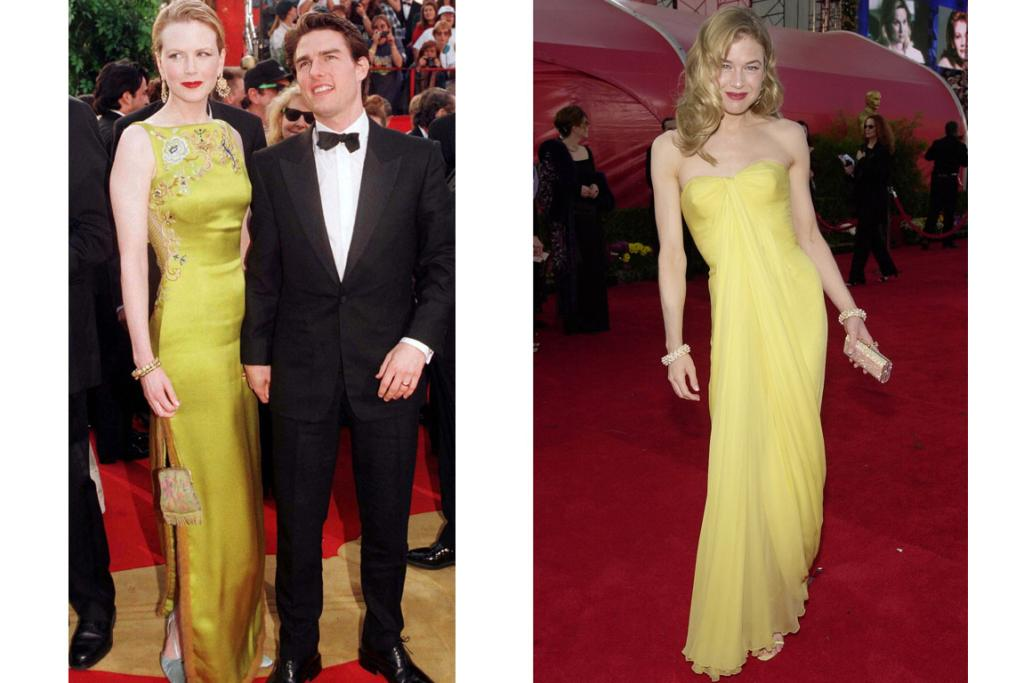 CLASSICS: These looks from Nicole Kidman and Renee Zellweger are two of red carpet history's most important moments.