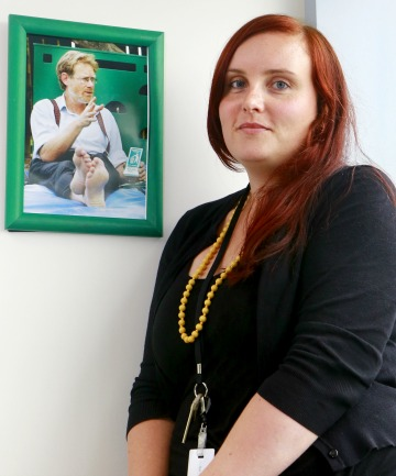 GREEN VALUES: Holly Donald believes her father, late Greens co-leader Rod, would be pleased with her career choice.
