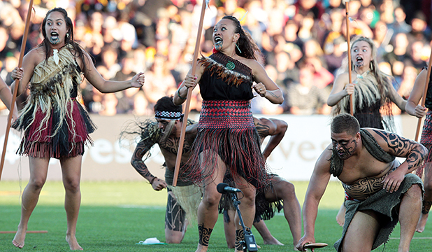 female haka