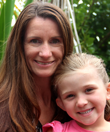 NEW OPPORTUNTIES: McKenzie Joyce-Quinn, 5, with mum Donna, received a cochlear implant last month.