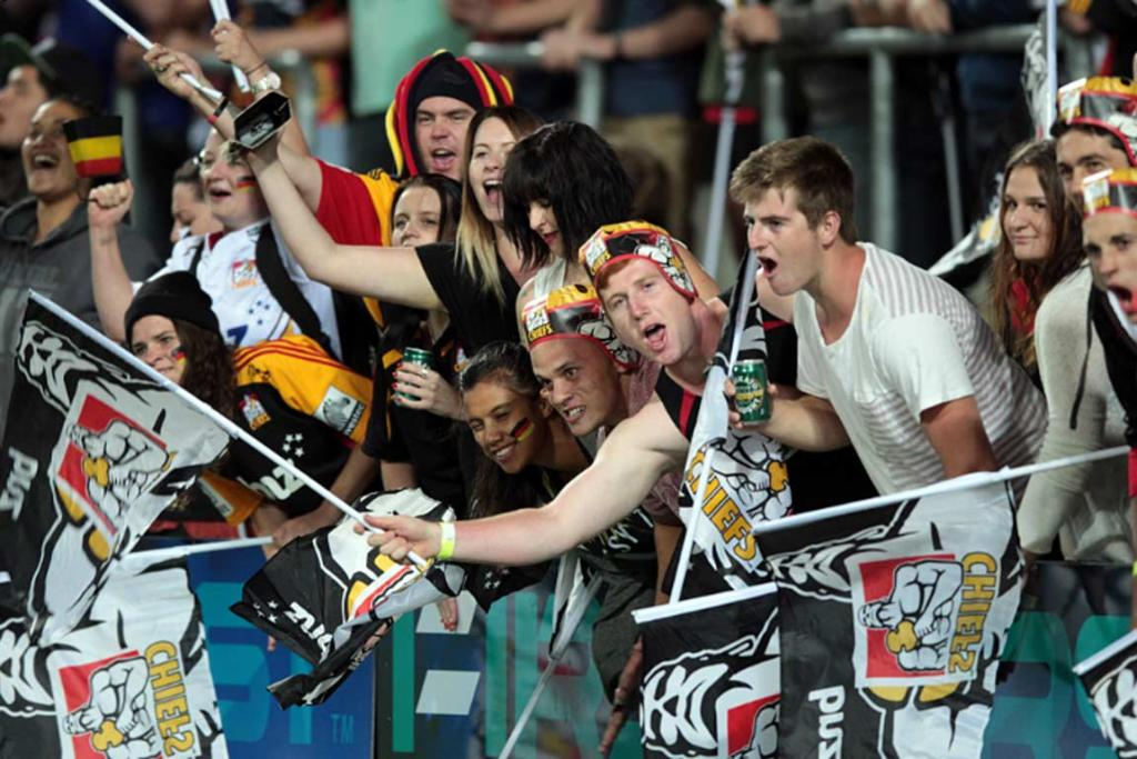 Chiefs fans enjoyed a two-point victory against the Highlanders.