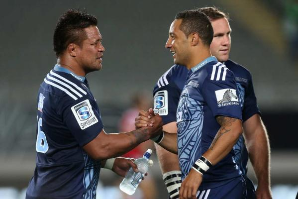 Keven Mealamu and Benji Marshall