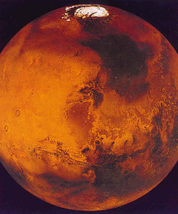 RED PLANET: The planet Mars is seen in this recent undated handout image from NASA.