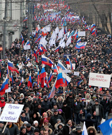 Moscow protest