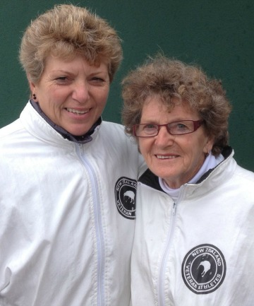 Janice Maxwell, left, and Iris Bishop