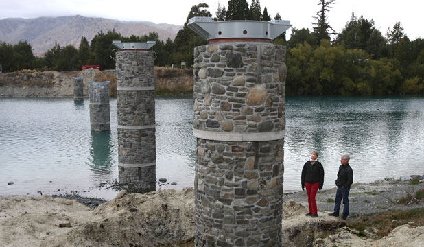 Tekapo footbridge