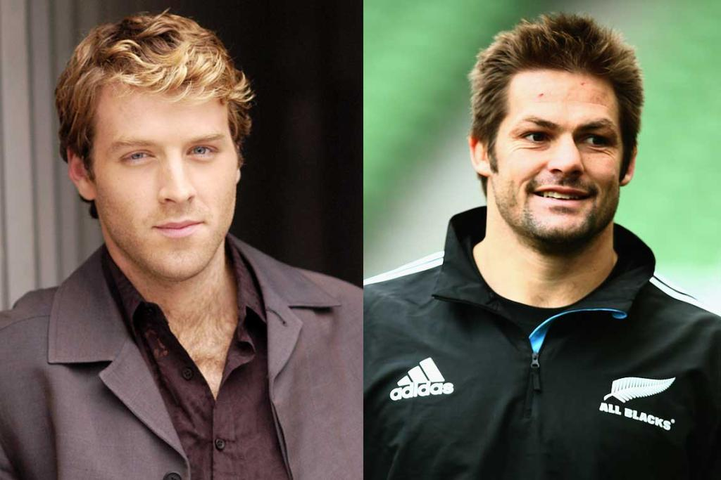 CAST FOR THE KICK: Tim Foley will play Richie McCaw.