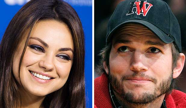 Mila Kunis and Ashton Kutcher