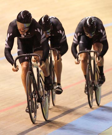 OPTIMISTIC: New Zealand could dominate the world in cycling's team sprint for the next decade.