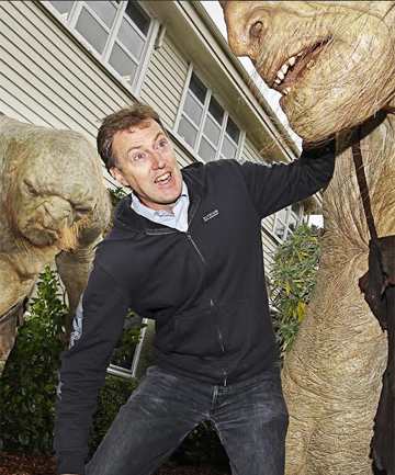 Weta Ltd general manager Tim Launder expects Weta Cave to draw about 150,000 visitors this year.