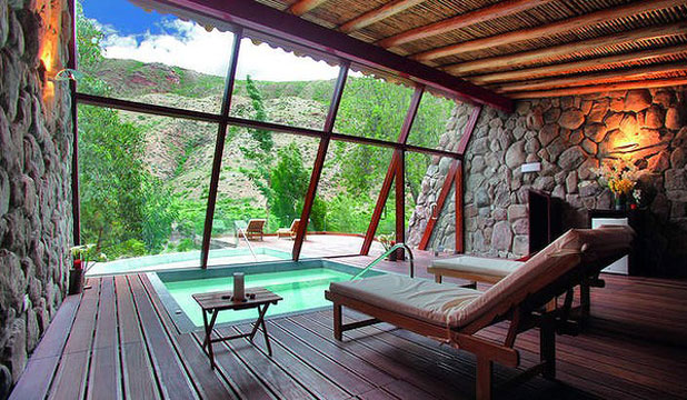 NEW YOU: Spa Mayu Wilka at Hotel Rio Sagrado in Peru.