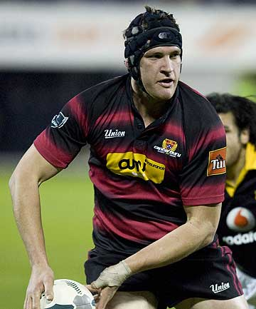 Kevin O'Neill plays for Canterbury against Wellington in 2007.