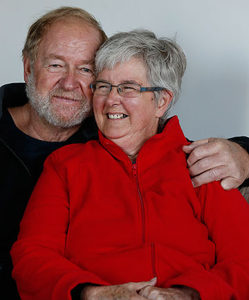 UNDETERRED: Gary and Carol Ardern talk about the escape they made from their burning launch.