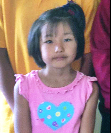 YOUNG VICTIM: Sakurako Uehara, 7, who was savagely attacked by four dogs in Murupara on Monday afternoon.