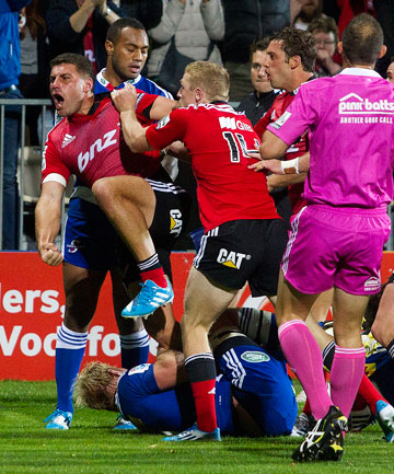 WALKING WOUNDED: The Crusaders are looking to build on their tight win over the Stormers but may struggle due to a mounting injury-toll.