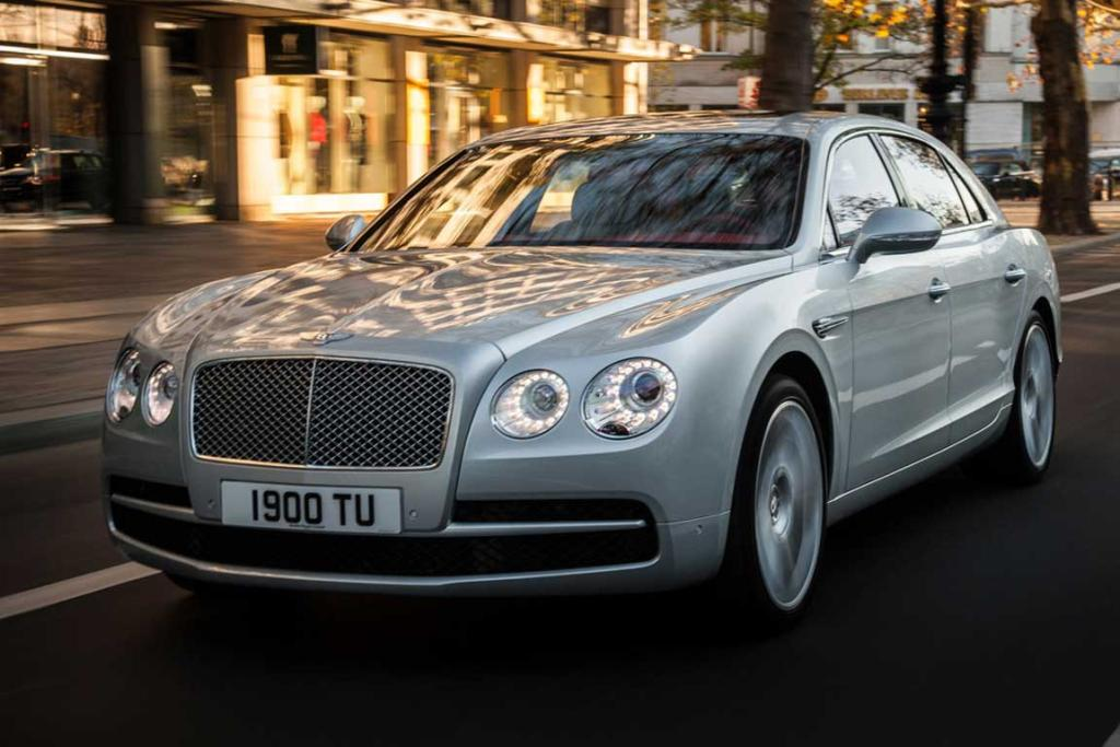 2014 World Luxury Car of the Year finalist: Bentley Flying Spur.
