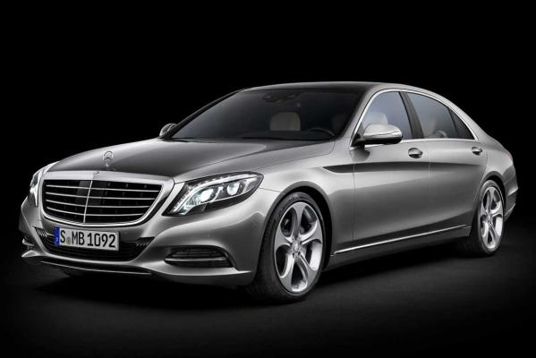 2014 World Luxury Car of the Year finalist: Mercedes-Benz S-class.
