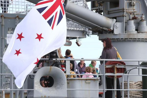 HMNZS Wellington open day
