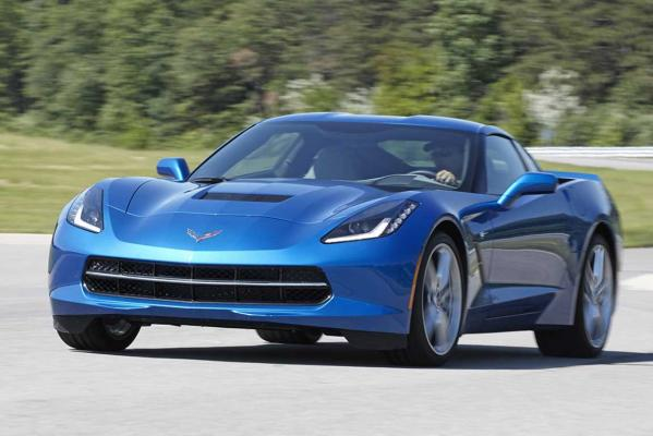 2014 World Performance Car of the Year finalist: Chevrolet Corvette Stingray.