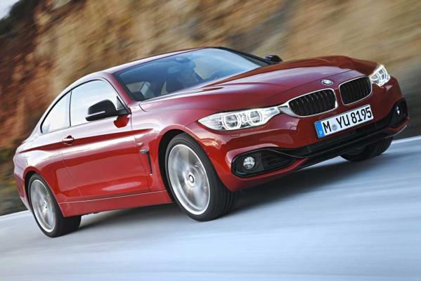 2014 World Car of the Year finalist: BMW 4 Series.