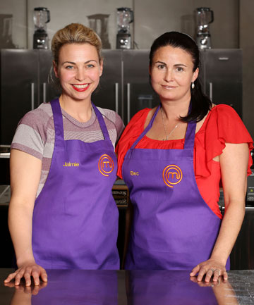 MasterChef contestants Jaimie Stodler and Becs Stanley