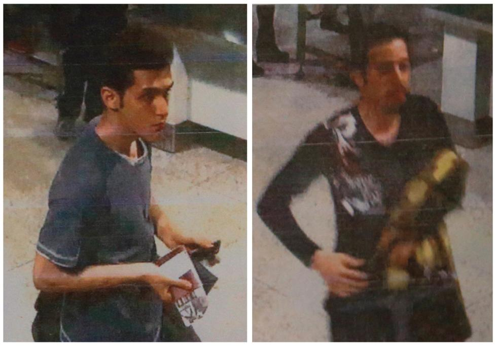 A combination photo shows two men whom police said were travelling on stolen passports onboard the missing Malaysia Airlines MH370 plane.