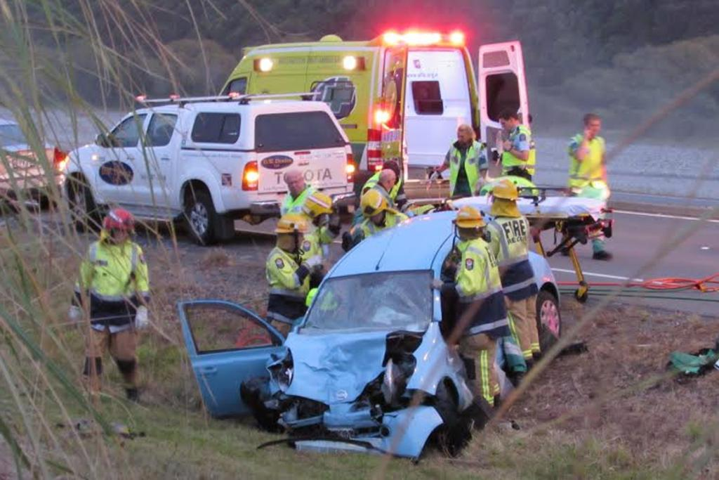 Crash, Totara Park, Upper Hutt, SH2