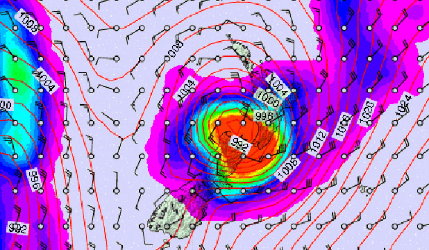 BRACE YOURSELVES: A storm is set hit Banks Peninsula on Sunday according to a forecast by website Metvuw.com