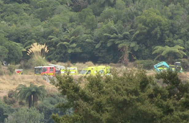Farmer trapped by bulldozer, Upper Hutt