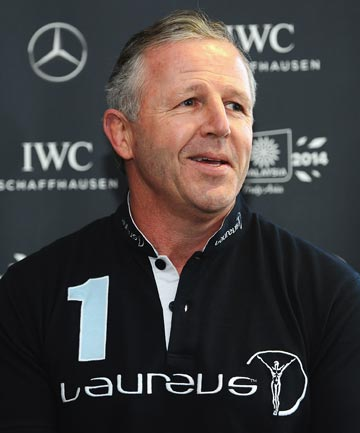 GOOD SHAPE: All Blacks great Sean Fitzpatrick believes Steve Hansen's side have the ability to back up their 2011 World Cup victory.