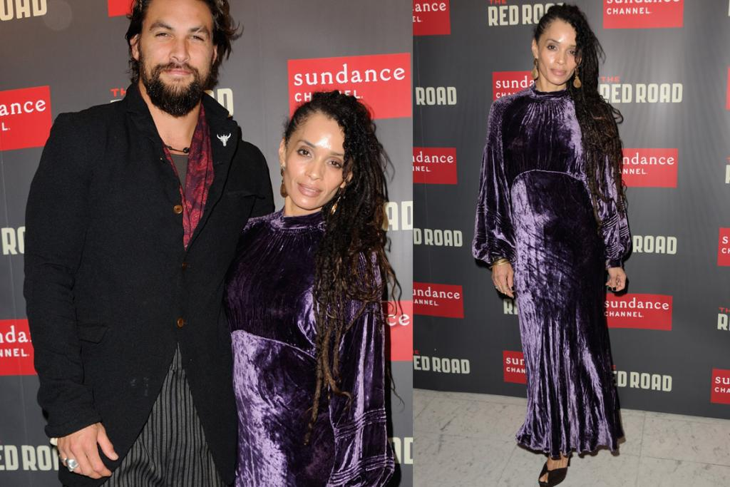"THE BAD: It looks like Lisa Bonet, 46, and Jason Momoa, 34, have just meandered off of the set of a period film. But, alas, no, the gorgeous Miss Bonet has  actually chosen to dress like <a href=""http://i45.photobucket.com/albums/f99/emerald-fairy/Tops/LynnStevieNicksBlackRhiannonTop.jpg"" target=""_blank"">a down-and-out Stevie Nicks impersonator who can do a rendition one-song-and-one-song-only ... Rhiaaaaaaaaannon</a>. PS: HOW high are his pants?!"