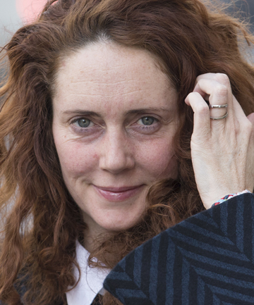 Rebekah Brooks arrives at court Thursday.