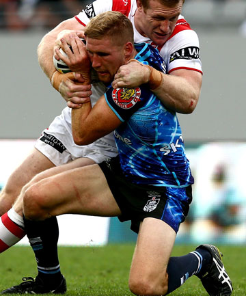 Ben Creagh and Sam Tomkins