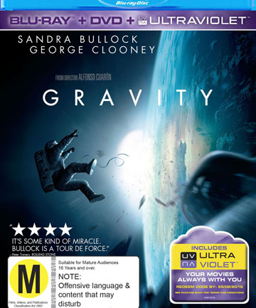 Blu-ray review: Gravity.