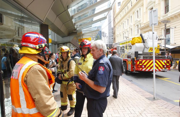 Lambton Quay chemical spill evacuation